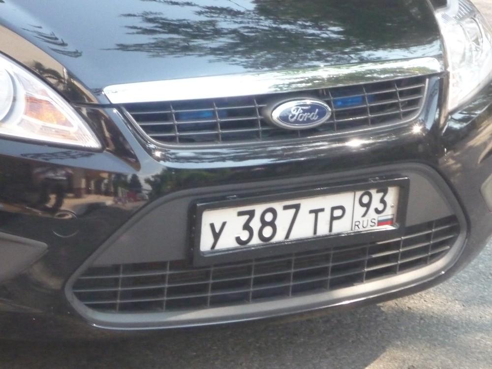Кубанские автоинспекторы объявили «войну» «шторкам на номерах» | Автоновости